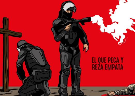 """Cizañero: """"En Colombia la policía nunca ha sido garante de la vida"""""""