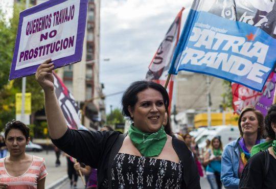 """Florencia Guimaraes: """"Va mucho más allá del cupo laboral travesti-trans. Hablamos del derecho a la existencia"""""""