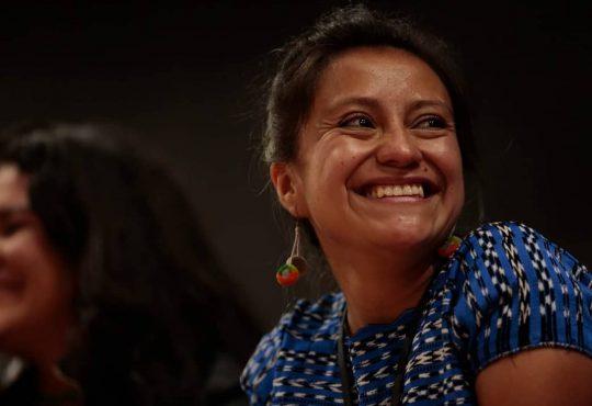 """Andrea Ixchíu: """"El Paro en Guatemala es un llamado a la unidad plurinacional"""""""